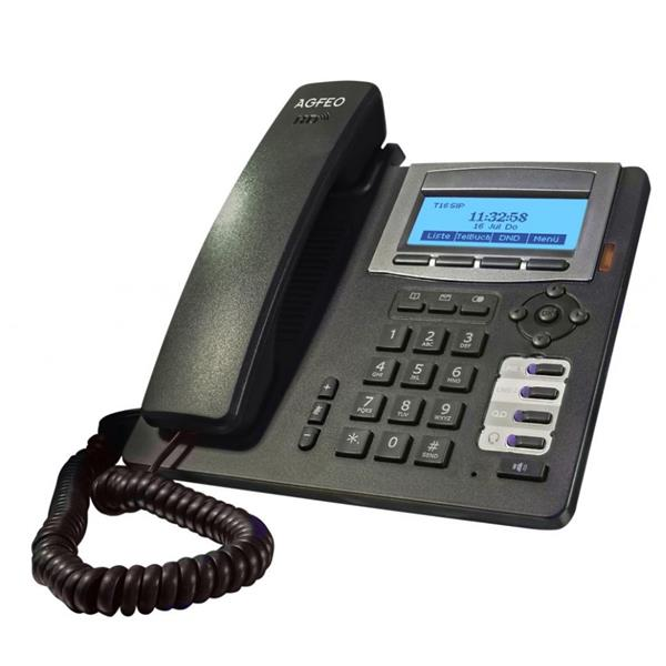 AGFEO T 16 SIP schwarz IP Telefon